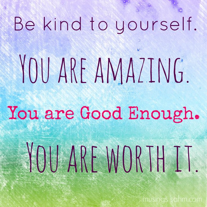 New Year Perspective: Be Kind To Yourself