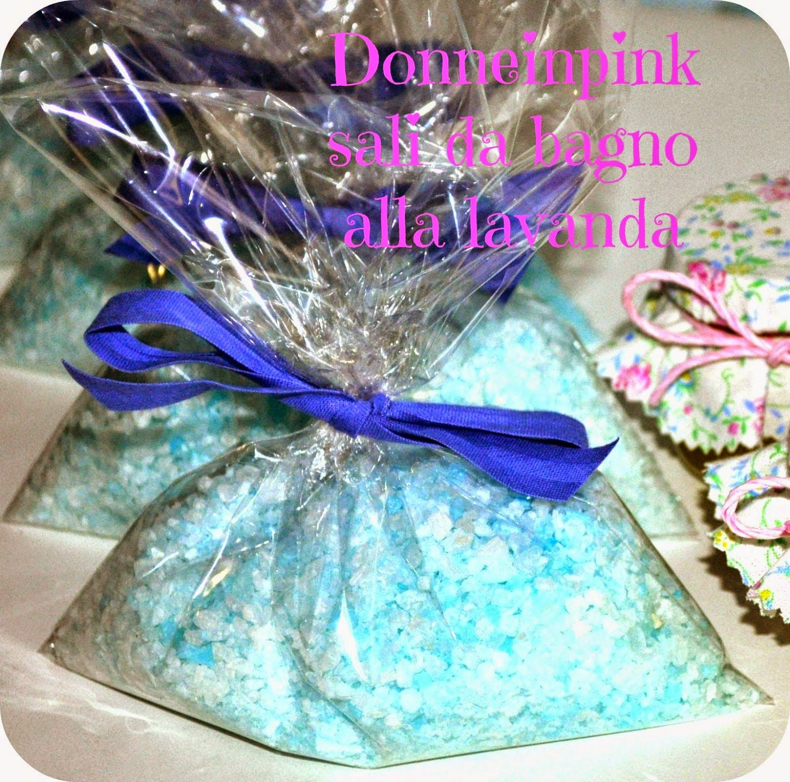 Sali da bagno alla lavanda fai da te - Idea regalo | Confetti