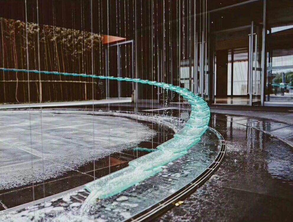cool water feature Water design, Water sculpture, Water
