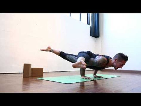side crow to eka pada koundinyasana transition with dylan