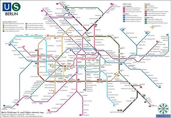 Berlins U-Bahn  S-Bahn  Subway Maps  Pinterest -5271