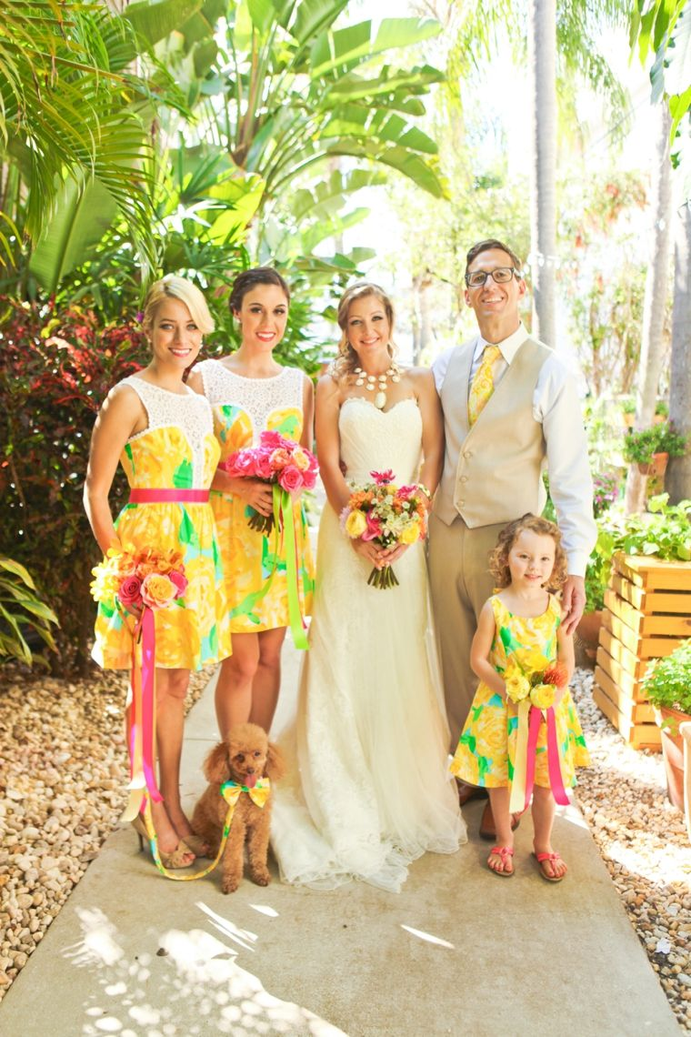Fun & Colorful Lilly Pulitzer Wedding Ideas | Photo credit ...