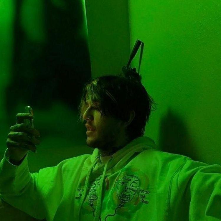 pin kangaroomz green aesthetic lil peep