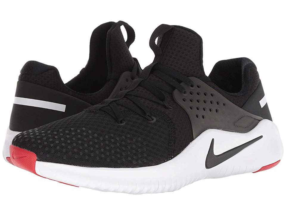 Nike Free Trainer V8 (Black White Red Blaze) Men s Cross Training Shoes 48f27fbb6