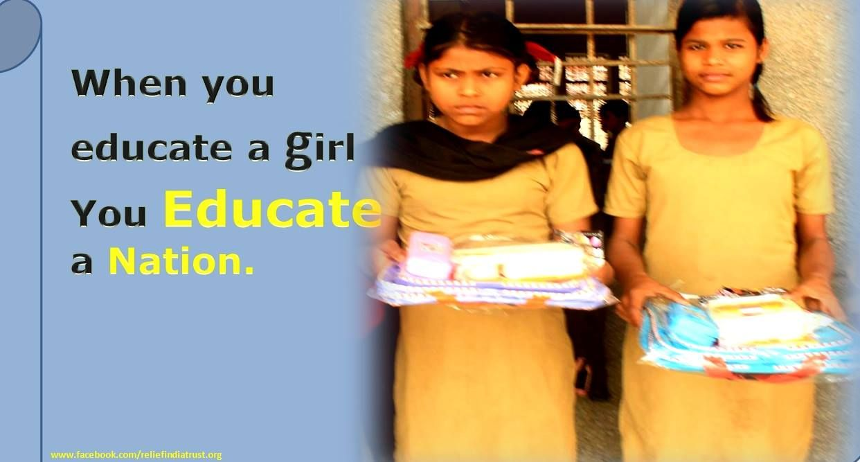 """Relief India Trust """"Every Child Has Right To Learn"""" http"""