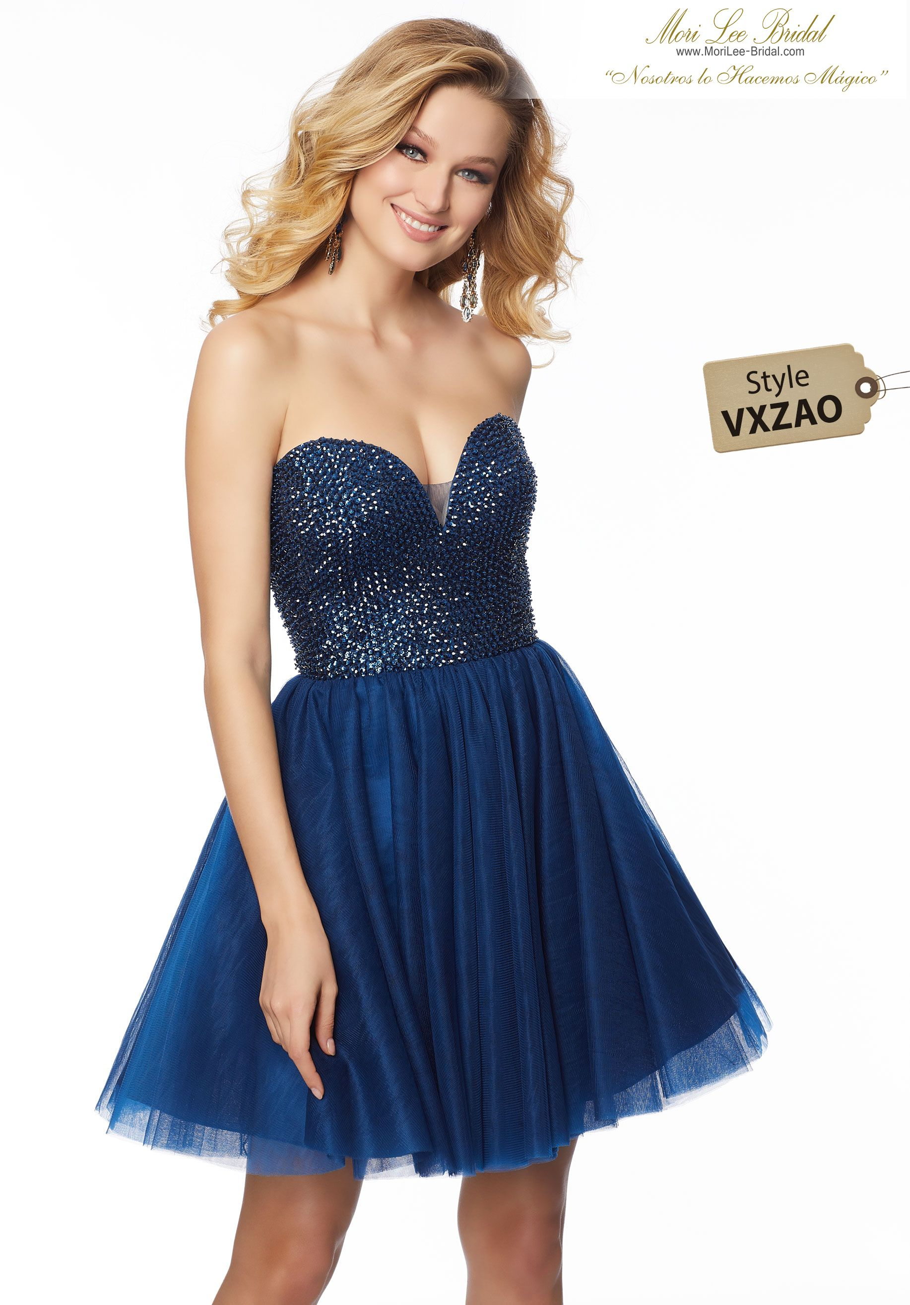 220124af40 Soft Net Party Dress with Beaded Bodice Soft Net Party Dress with Beaded  Bodice 33052 Mori