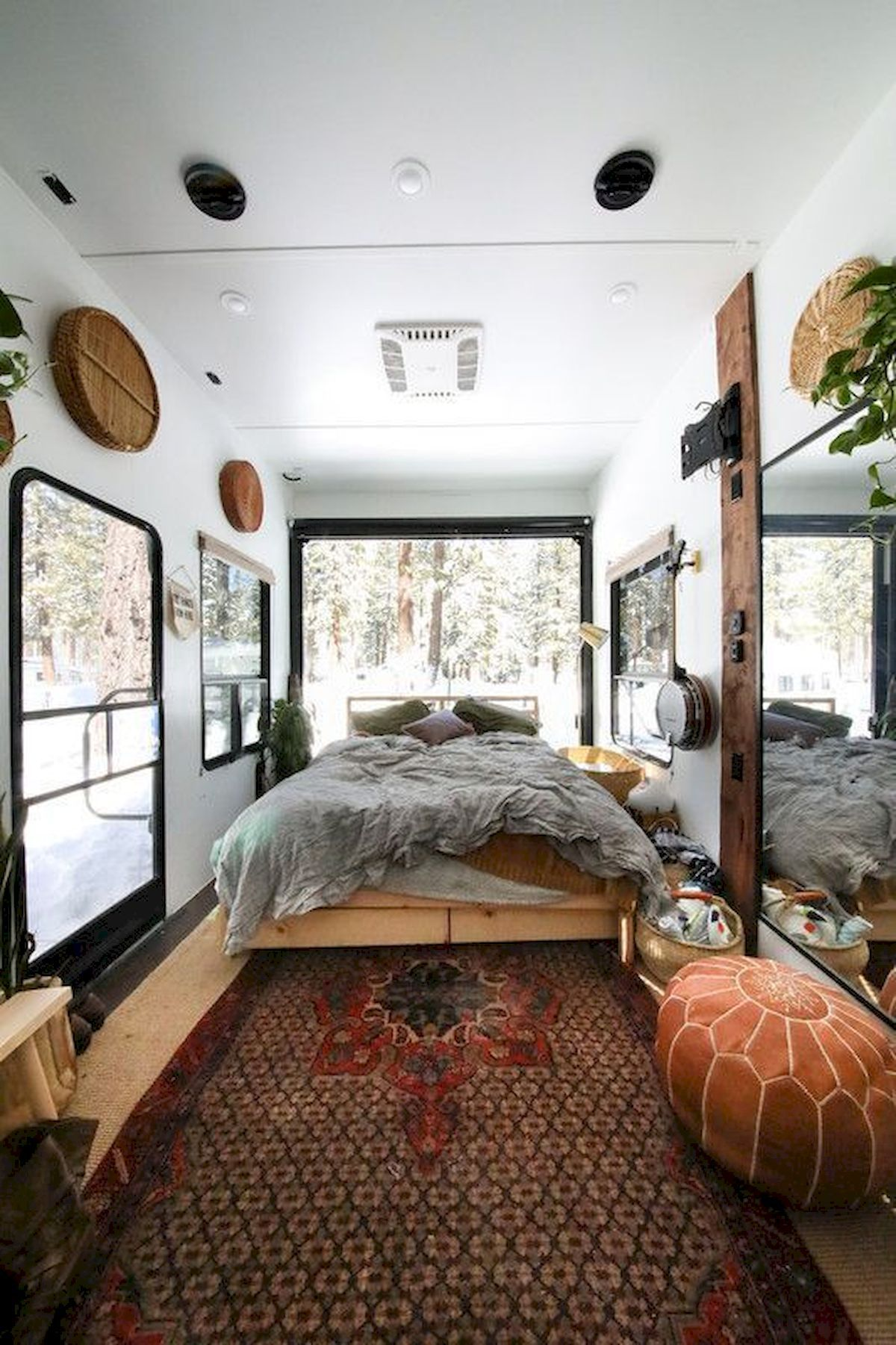 incerdible photo gallery rustic rv interior also this converted sprinter van is  surprisingly livable tiny house on rh pinterest