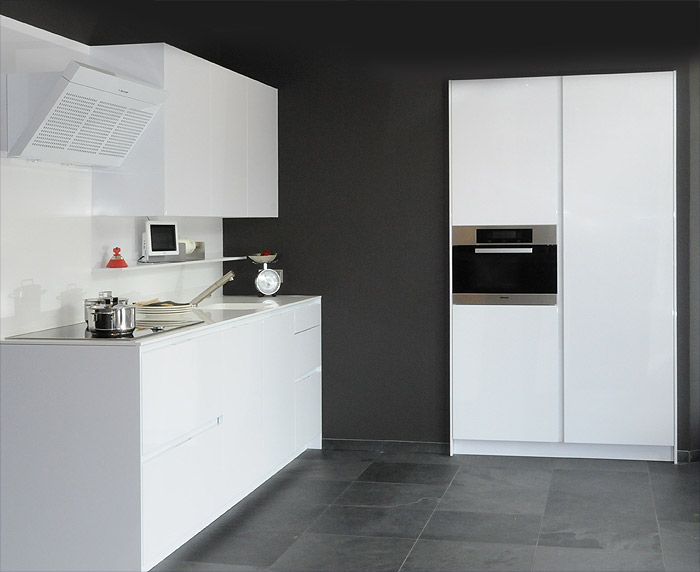 Witte Keuken Design : Witte keuken grijze muur google search waterhouse in