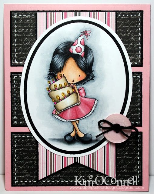 """Paper Perfect Designs by Kim O'Connell: Tiddly Inks """"Birthday Wishes"""""""
