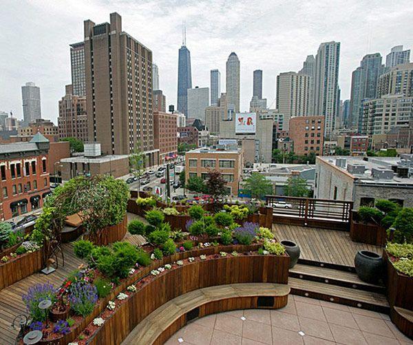 Simple Terrace Garden: 30 Rooftop Garden Design Ideas Adding Freshness To Your