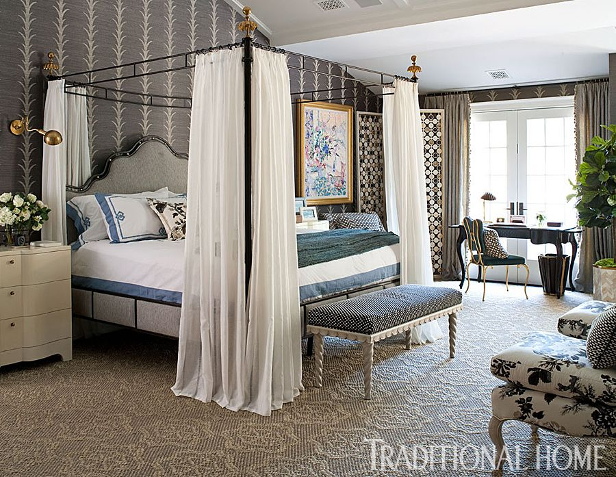 Bedrooms Designs Hampton Designer Showhouse 2013  Traditional Home  Bedroom