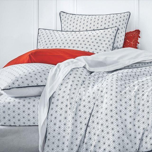 housse de couette coton nordic taille 260x240 cm. Black Bedroom Furniture Sets. Home Design Ideas