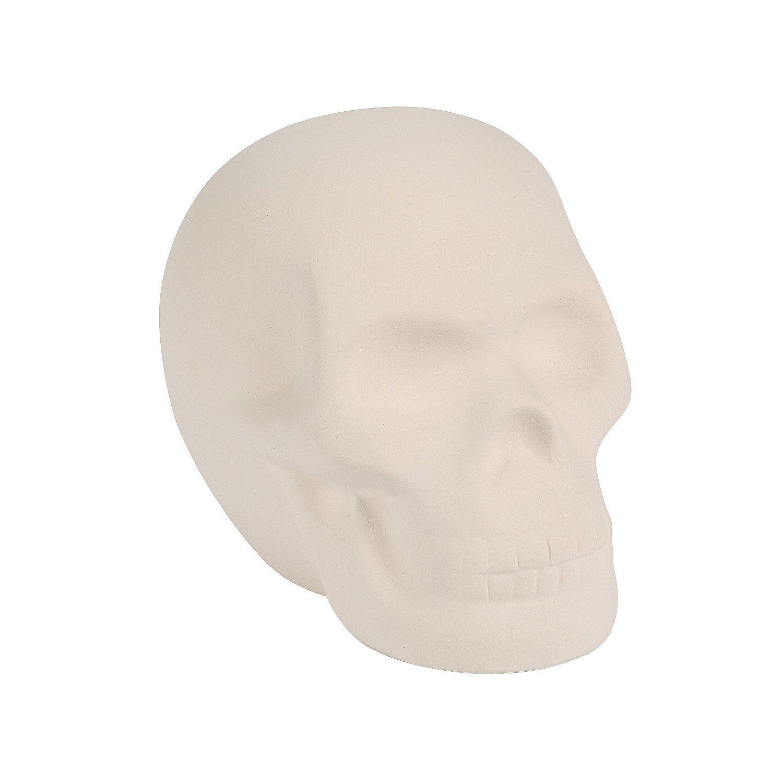 Diy Mini Ceramic Skull Orientaltrading Com Diy Ceramic Oriental Trading Wood Sugar Skull
