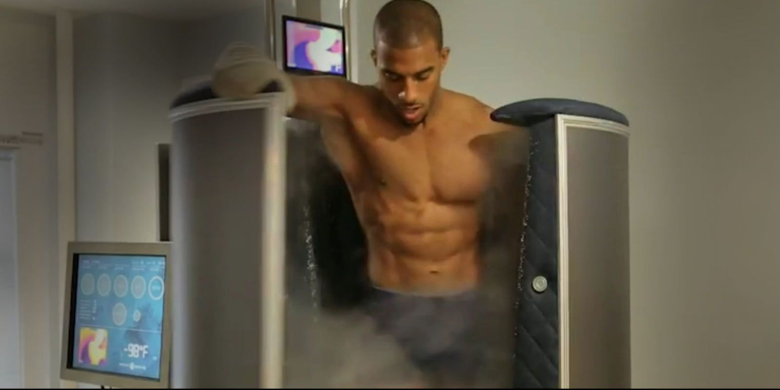 A cryosauna can also help individuals that play sports