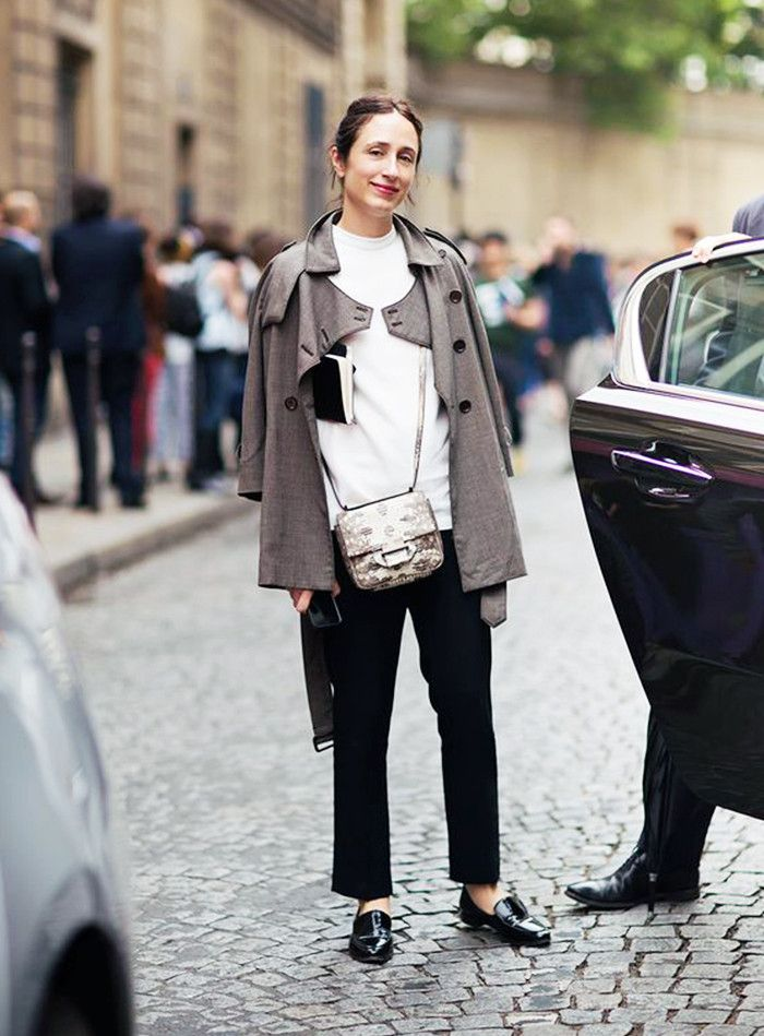 Why You Should Bookmark This Vogue Editor's Style via @WhoWhatWear
