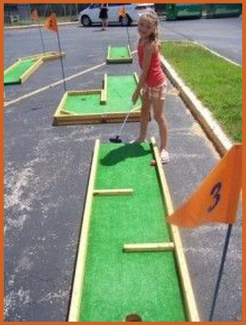 9 Hole Mini Golf Our Mini Golf Course Is Great For Tournaments For Young And Old Carnivallady Com Backyard Putting G In 2020 Mini Golf Golf Diy Backyard Games Backyard mini golf kit