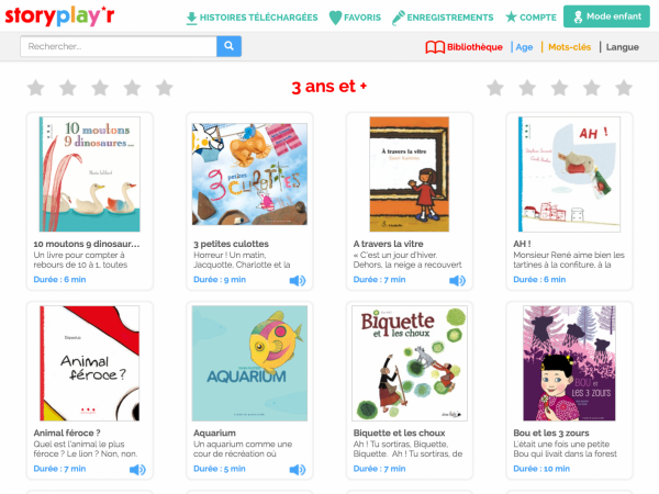 Storyplayr Bibliotheque Numerique Jeunesse Livres