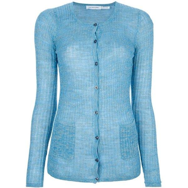 Isabel Marant Étoile ribbed cardigan ($241) ❤ liked on Polyvore