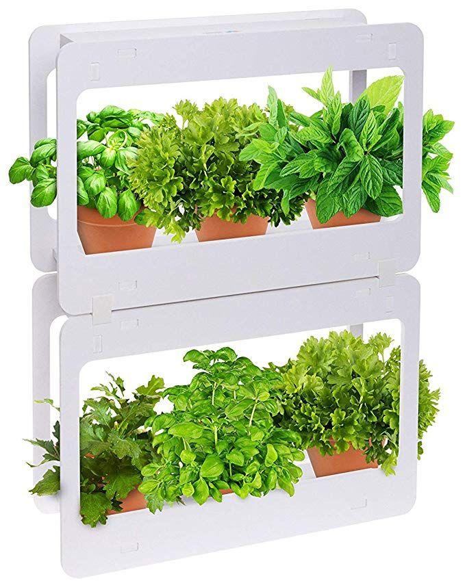 Mindful Design Stackable LED Indoor Garden