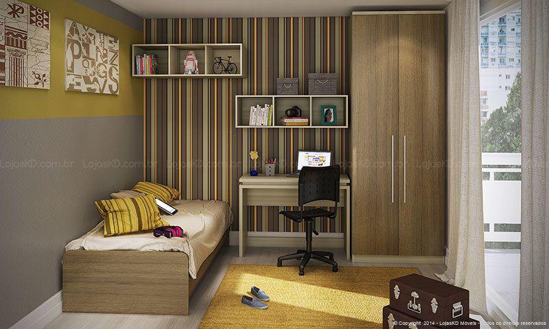 resultado de imagem para quarto de solteiro feminino duas camas