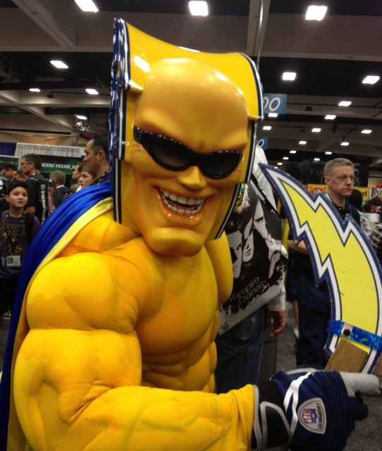 San Diego Chargers Costume: #Chargers Mascot At #SDCC