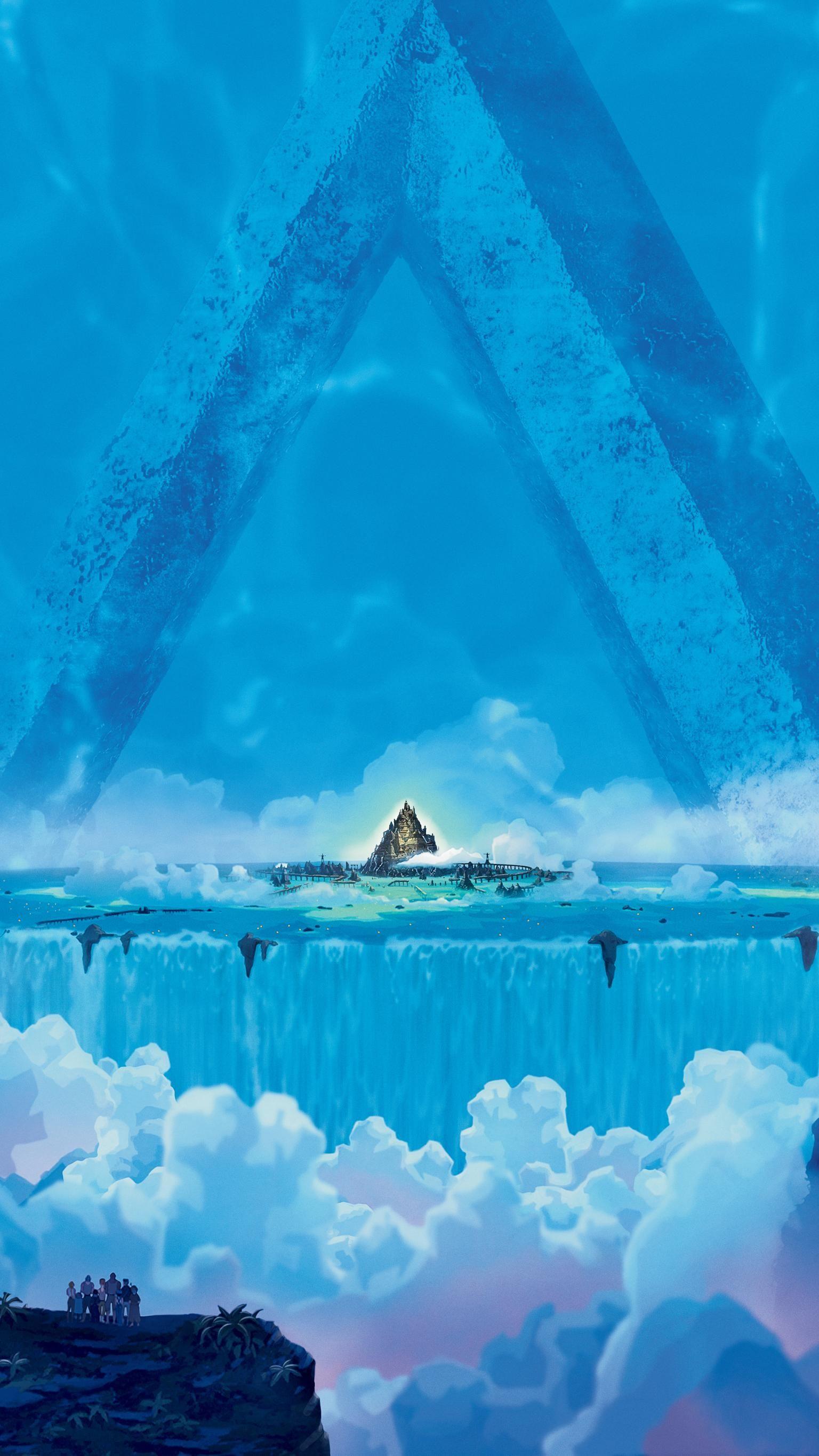 Atlantis The Lost Empire 2001 Phone Wallpaper Moviemania Atlantis The Lost Empire Lost City Of Atlantis Atlantis
