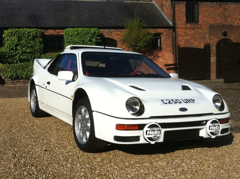 Fully Restored 11k Mile 1986 Ford Rs200 Car Ford Old Fords Ford