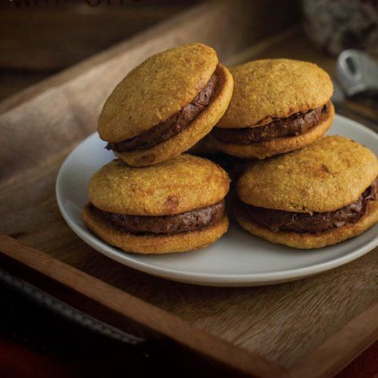 Orange Whoopie Pies with Chocolate Cream Cheese Frosting | Frontier Co-op