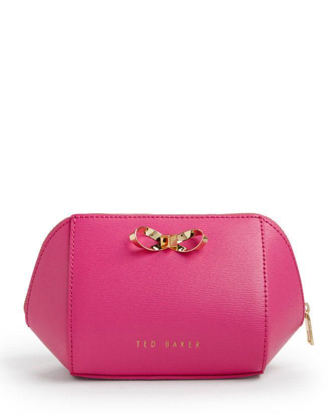 2a5b94f75dc0 Bright Pink Ted Baker Makeup Bag