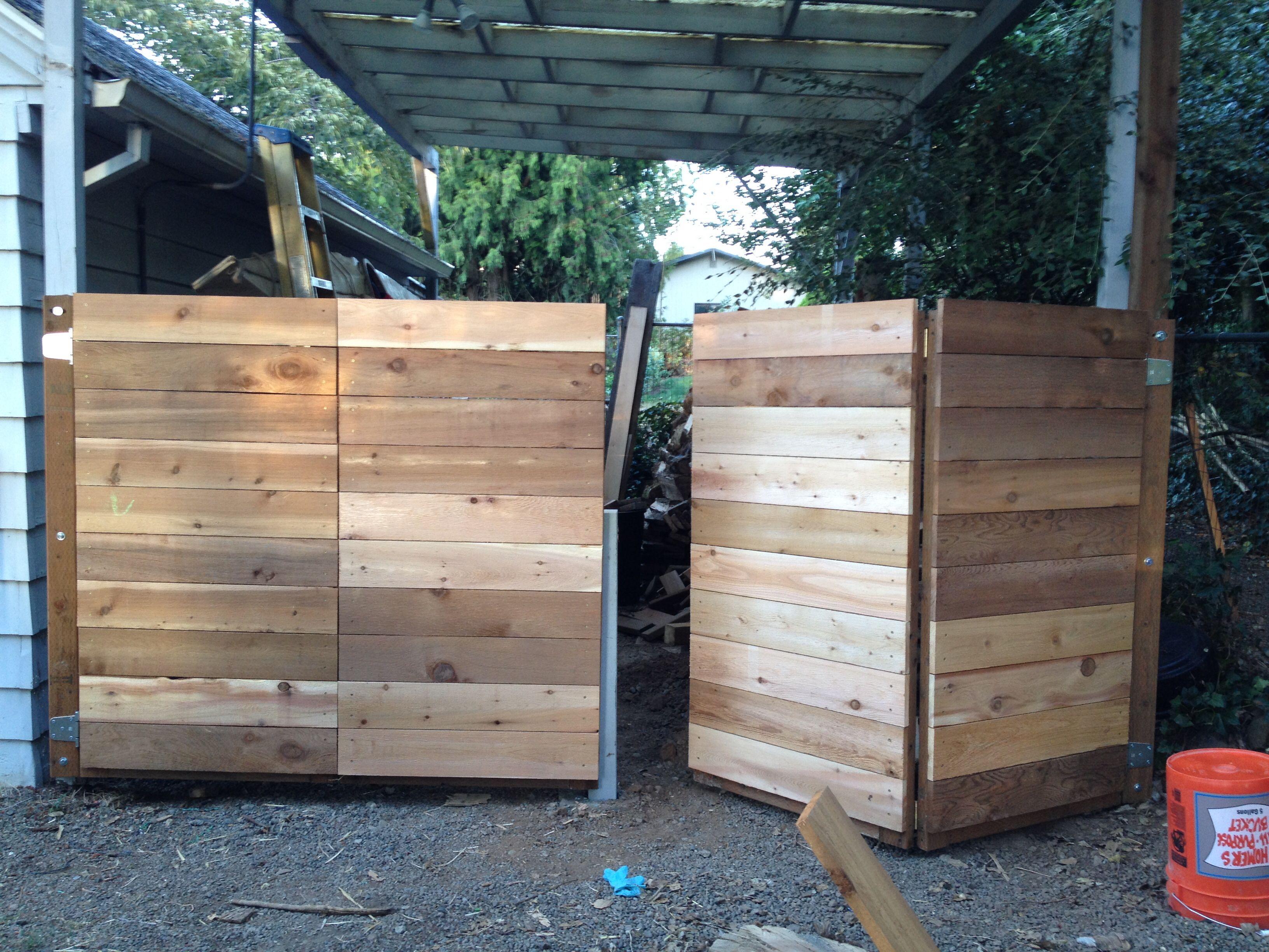 Bi Fold Gate Dyi Wooden Gates Driveway Driveway Gate Driveway Gate Diy