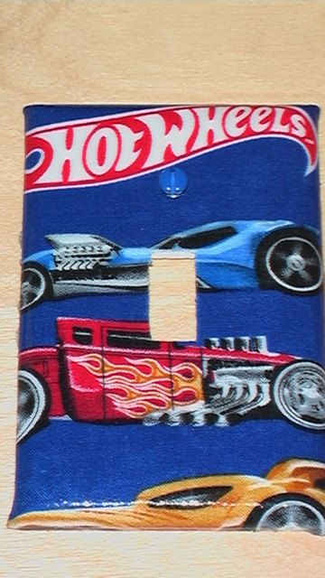 Cars Hot Wheels Single Toggle Light Switch Plate Cover 3 50 Via Etsy Car Themed Bedrooms Hot Wheels Bedroom Hot Wheels