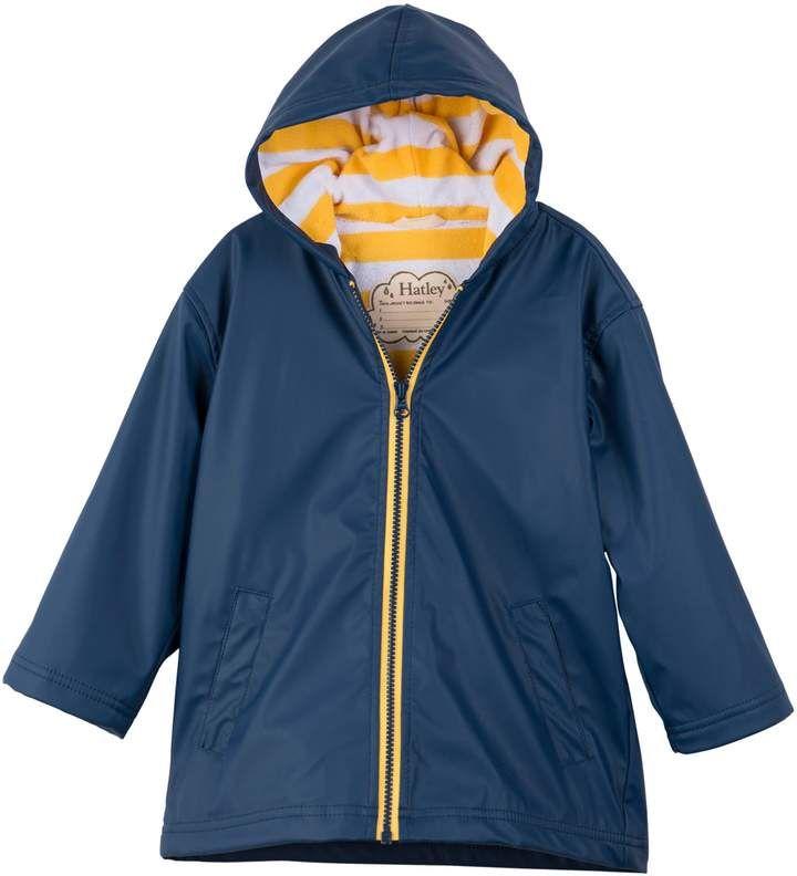 Hatley Boys Zip Up Splash Jacket Raincoat