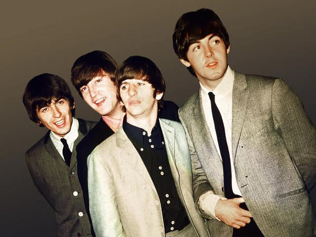 George Harrison John Lennon Richard Starkey And Paul McCartney