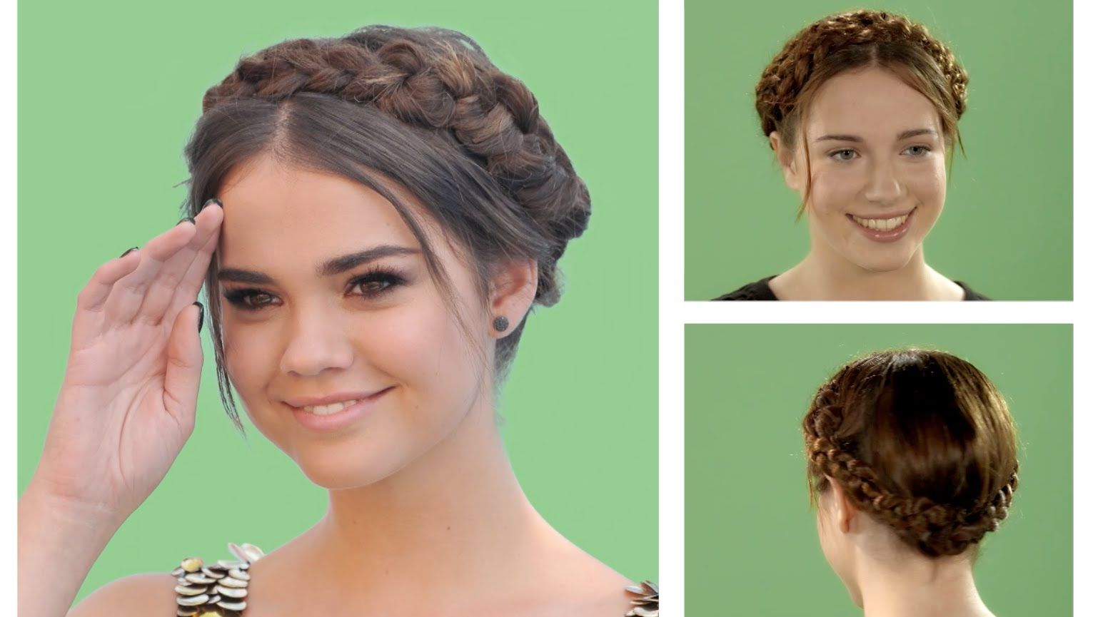 Disney Hairstyles Hair Tutorial  Maia Mitchell Crown Braid  Official Disney Channel