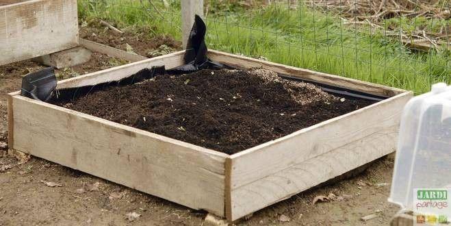Fabriquer un carr potager culture simple et belle for Potager naturel sans entretien