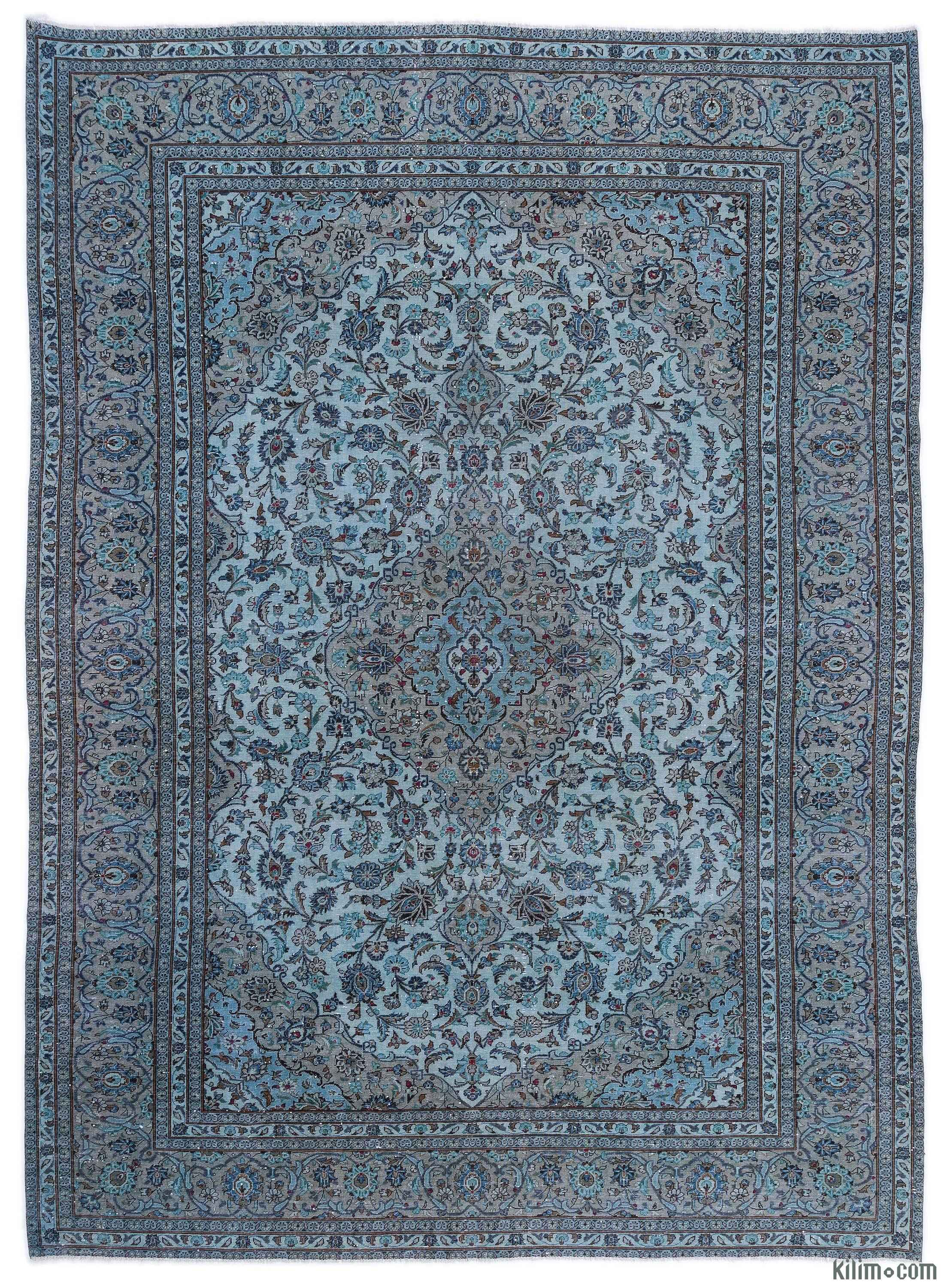 Over Dyed Persian Vintage Rug