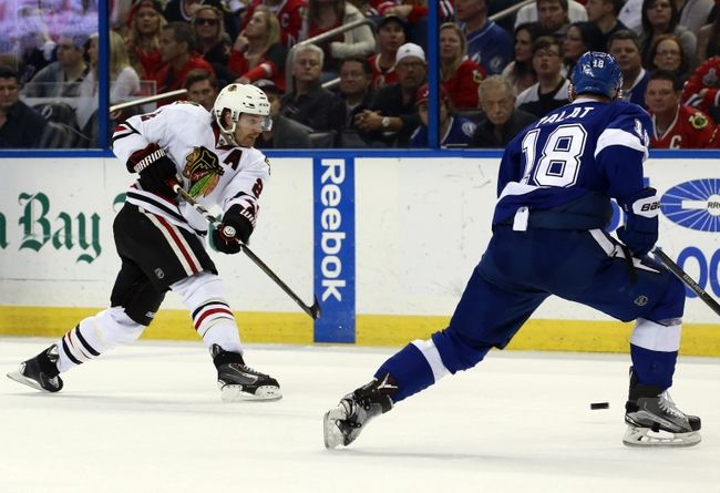 Chicago Blackhawks vs. Tampa Bay Lightning - 1/24/17 NHL Pick, Odds, and Prediction