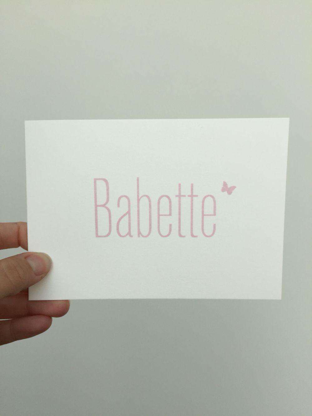Babette Geboortekaartje Geboortekaartje Babette In 2020 Babynamen Liste Babynamen Geburtsanzeige