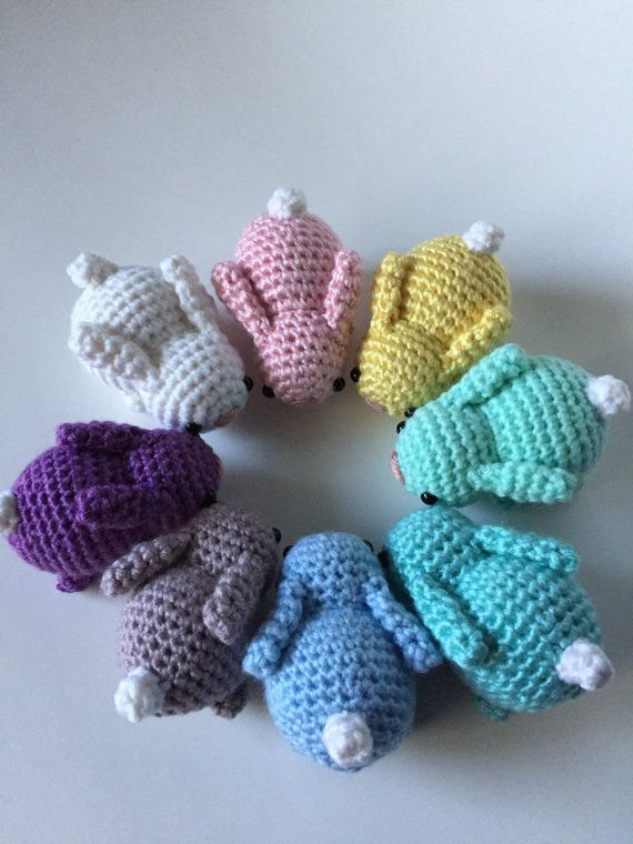 Baby Bunnies, Crochet Bunny, Amigurumi Bunny, Crochet Rabbit ...