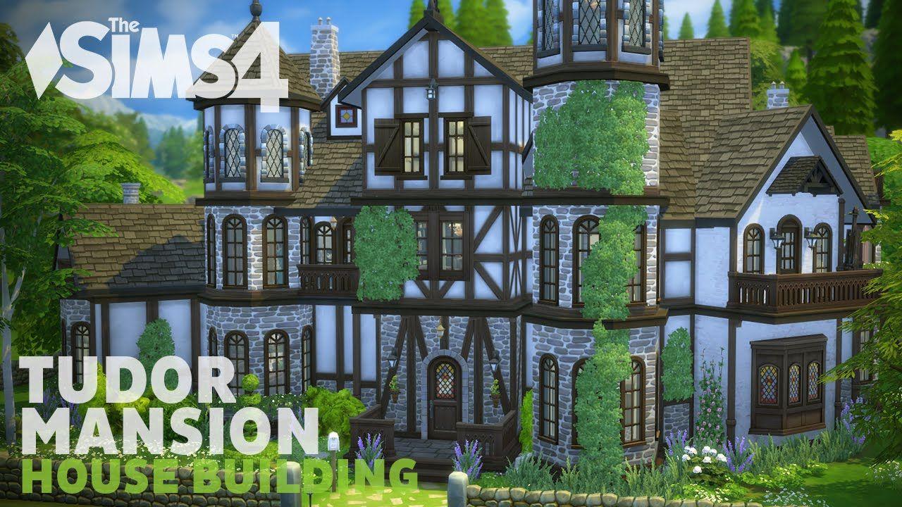 The Sims 4 House Building Tudor Mansion Sims 4 House Building Sims 4 Houses Sims 4 House Design