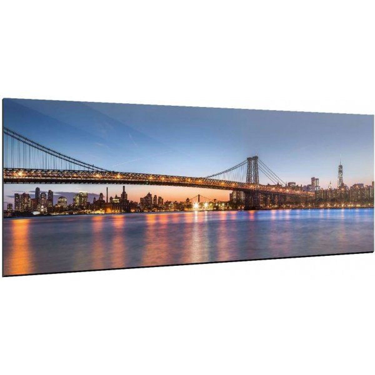 Tableau New York Bridge Recollection 120 X 40 Taille New York Photographie Photographie Art De La Photographie