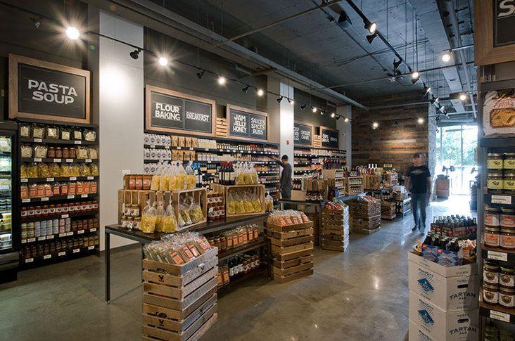 Digital signage grocery store design store design