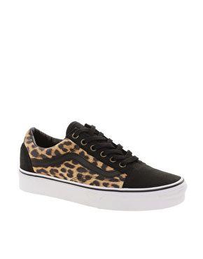 Vans Old Skool Leopard Trainers