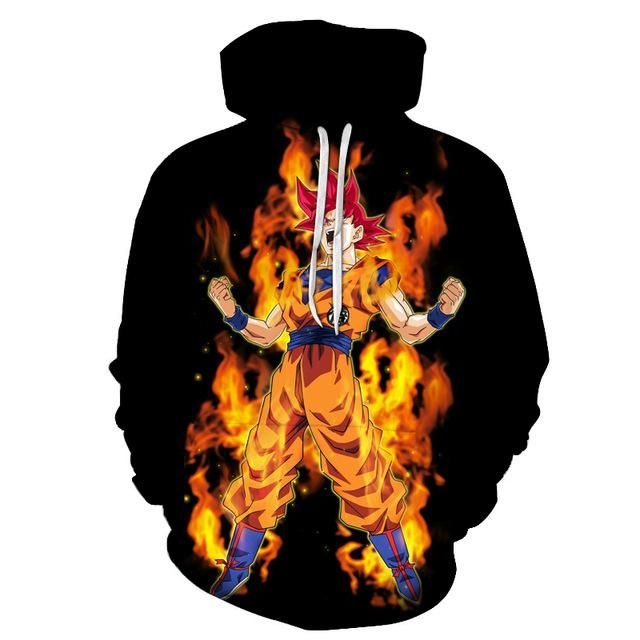 Photo of Dragon Ball Z Characters 3D Sweatshirt Hoodie Pullover