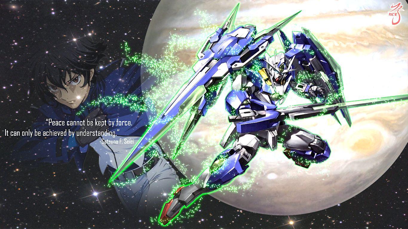 00 Quanta Setsuna F Seiei Wallpaper Gundam 00 Gundam