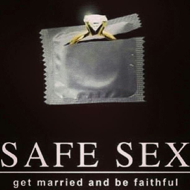 safe sex is no sex