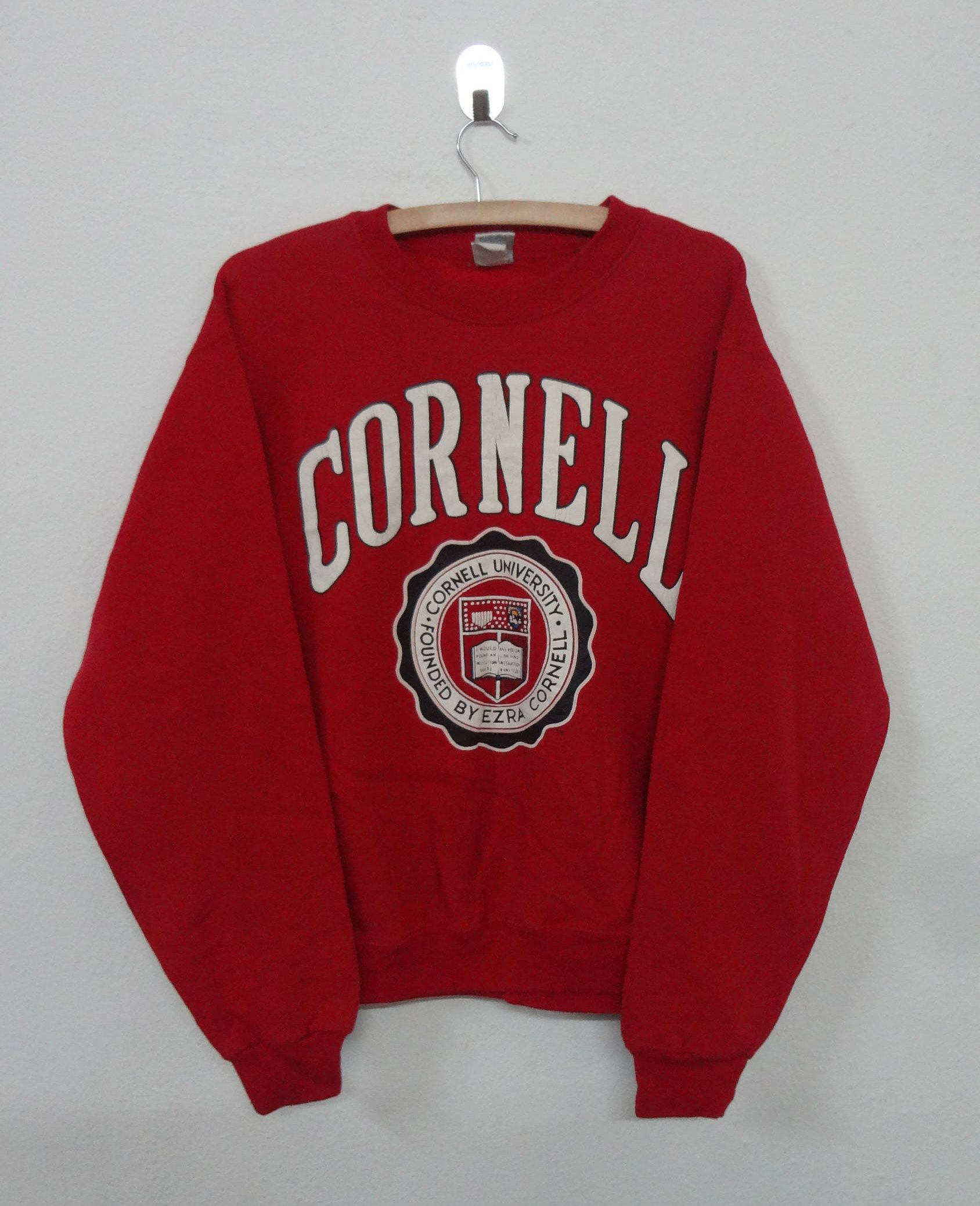 Vintage Cornell University Sweatshirt Mens Size M Made In Usa By Notreshop On Etsy Vintage College Sweatshirts College Sweatshirt Outfit Sweatshirts [ 2077 x 1688 Pixel ]
