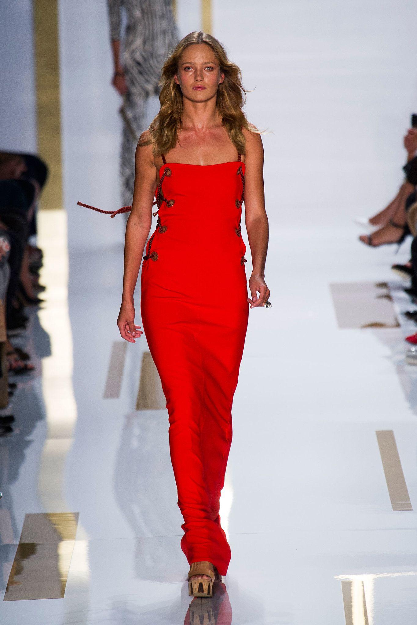Color Trends Spring 2014 - Red Rush - Diane von Furstenberg Spring 2014