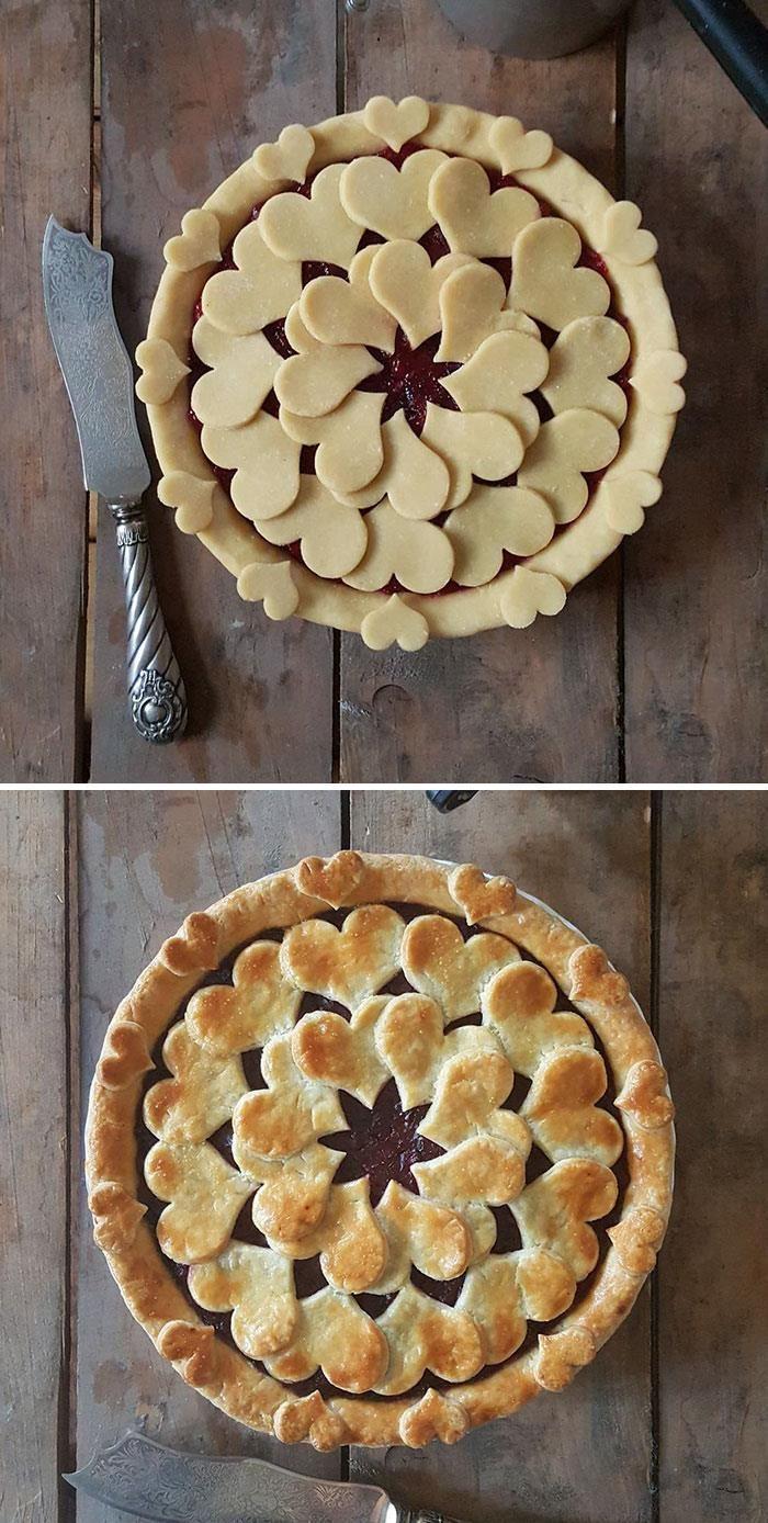 Ces étonnantes photos avant et après de tarte vous donnerons l'eau à la bouche | Décoration ...