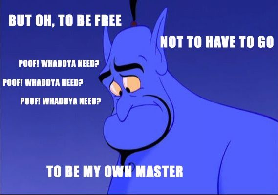 Hilarious Quotes From The Genie In Aladdin Pixar Funny Aladdin Disney Aladdin